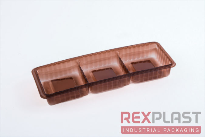 Chocolate Plastic Tray