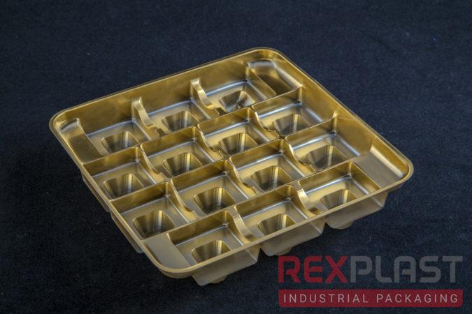 Plastic Chocolate Balls Box