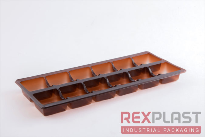 Plastic Chocolate Napolitains Box